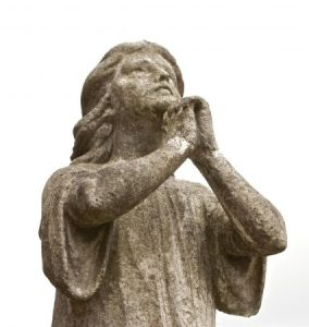 Praying by Alexander Baxevanis via Flickr CC BY 2.0