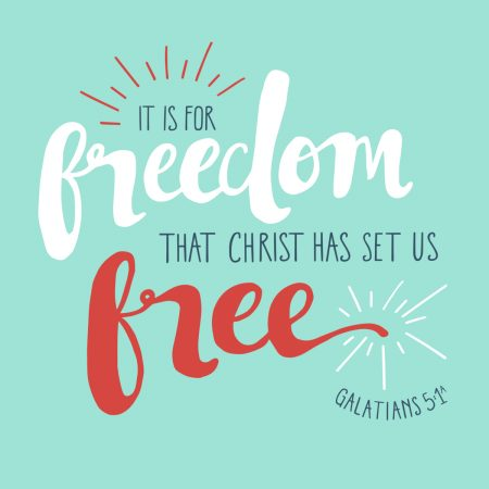Freedom in Christ Icon