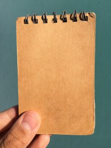 Old pocket notebook